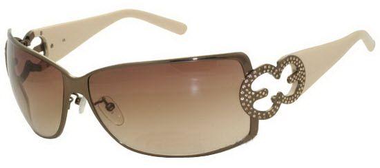 Glasses Frames Escada Eyewear : Escada SES 644T STRASS K01S Customfit.eu